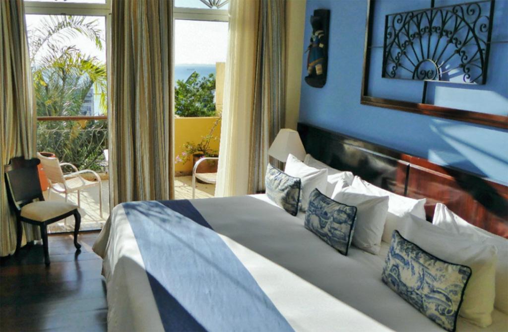 chambre hôtel Casa do Amarelindo