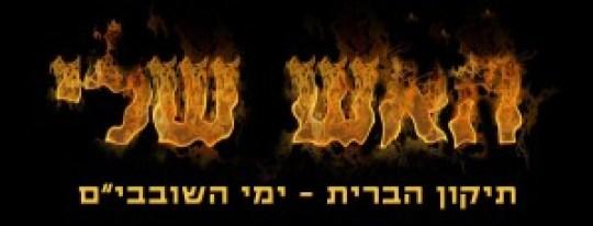 האש שלי - תיקון הברית