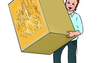 פרשת השבוע לילדים,ילד שמח,קופסא