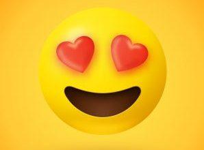 בדיחות, חיוך עם לב
