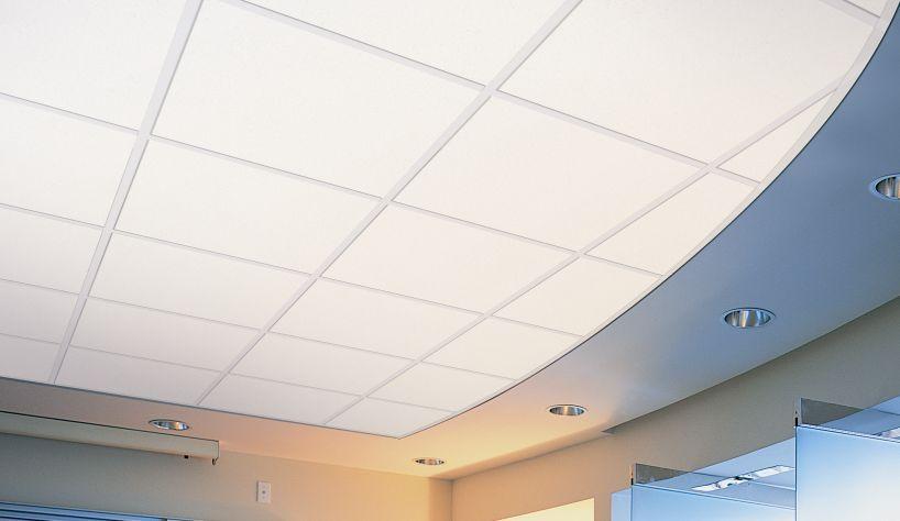 Faux plafond fibre  Isolation ides