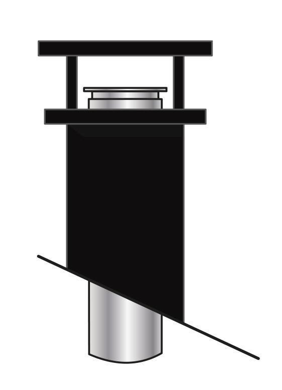 1000 noir ral 9005 o 100 150 mm