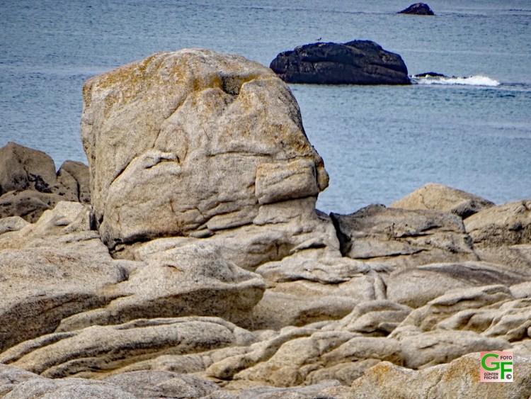 Ein Fels-Gesicht bei Trevignon