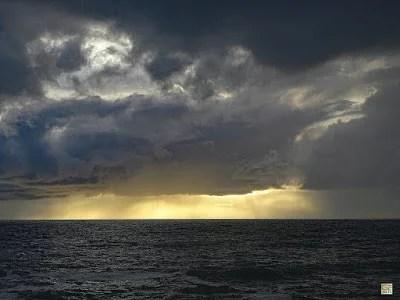 Sonnenuntergang bei Doëlan-sur-Mer