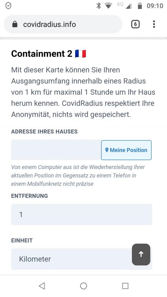 Radius-App
