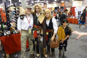 Assassin's Creed family cosplay