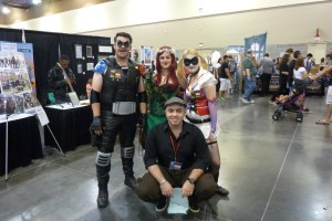 Watchmen Comedian, DC Harley Quinn, Poison Ivy cosplay