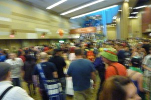 PHX comic con 2014 crowds