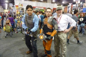 Half-Life 2 Gordon Freeman cosplay