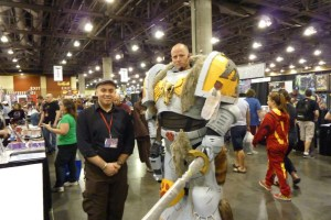 Warhammer 30k Space Marine cosplay