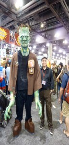Frankenstein monster cosplay