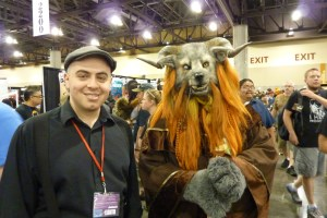 Furry creature cosplay