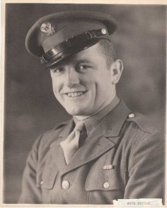Bret's Uncle Nick who gave his life during the Battle of the Bulge December 3, 1944