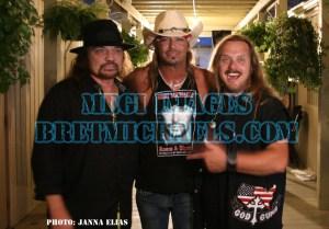 Gary Rossington, Bret, Johnny Van Zant [Photo:Janna Elias, MEGI Images/BretMichaels.com)