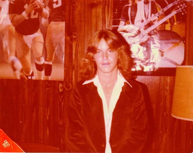 Bret MIchaels in his bedroom 1980