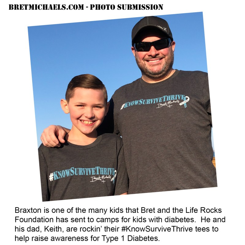 Fan Photo Friday - Braxton and Keith