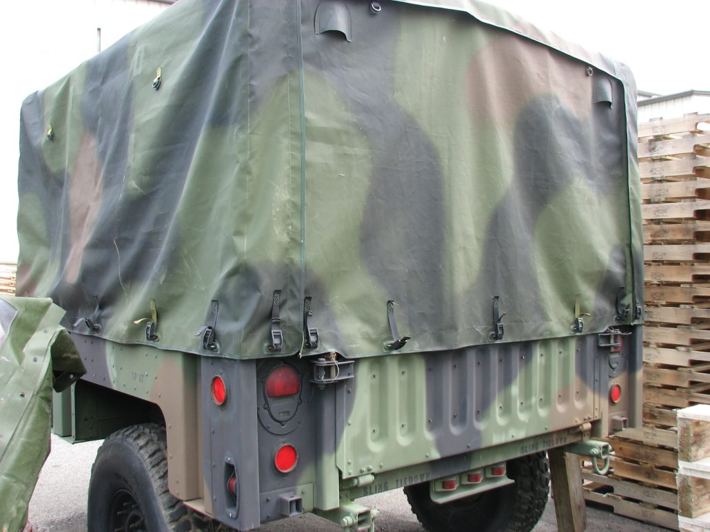 Military Truck Trailer Covers Breton Industries