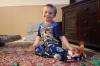 Toy Story pajamas from Grandma.