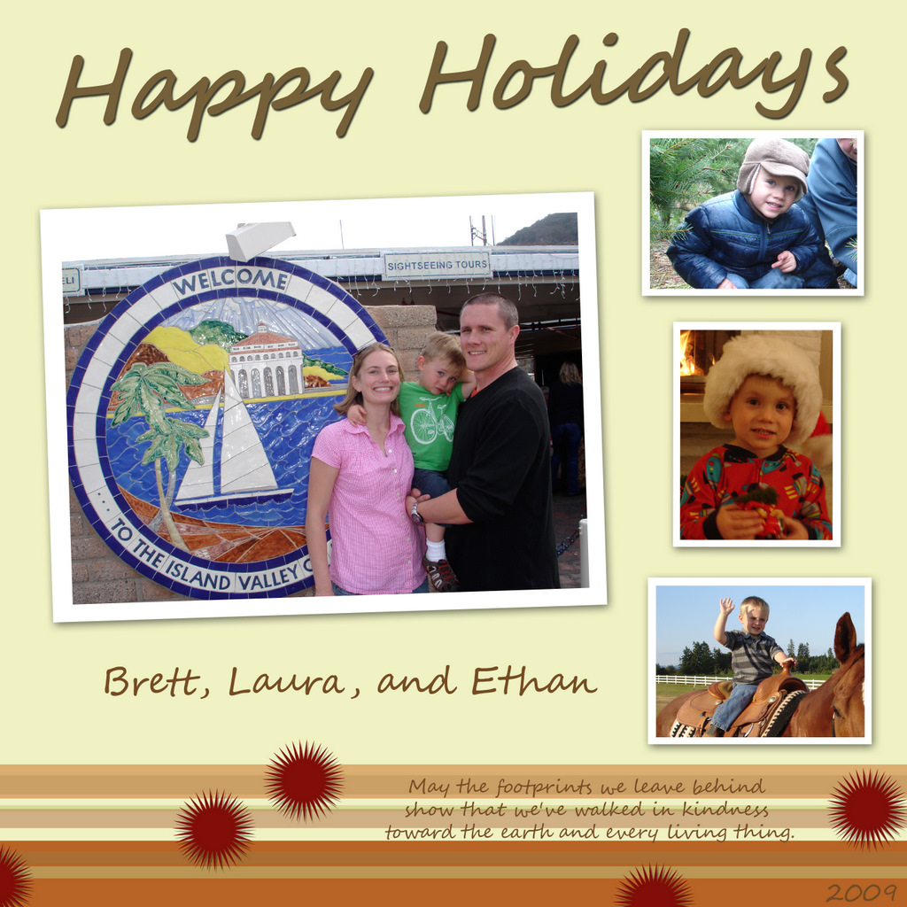 Holt Family 2009 Holiday Card