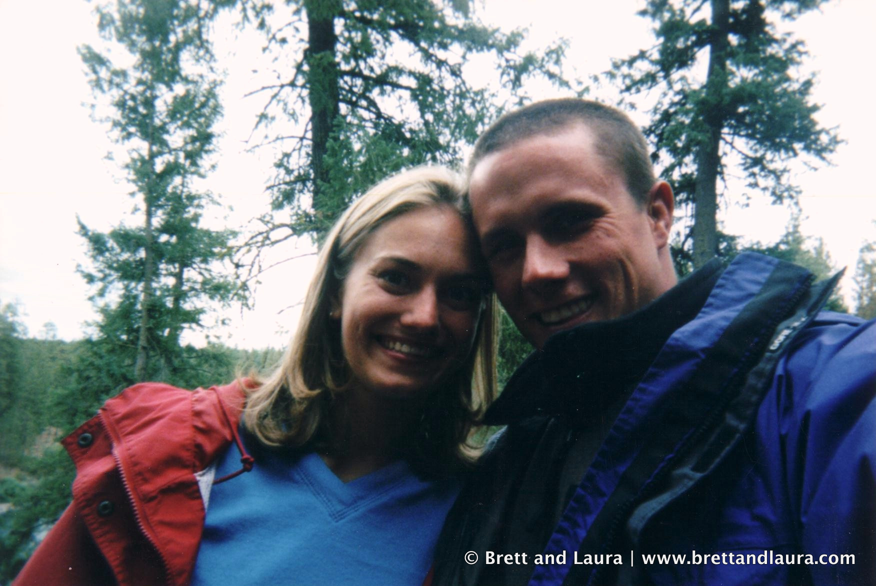 Brett and Laura Holt in Spokane