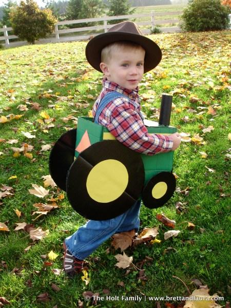 John Deere Tractor Halloween Costume