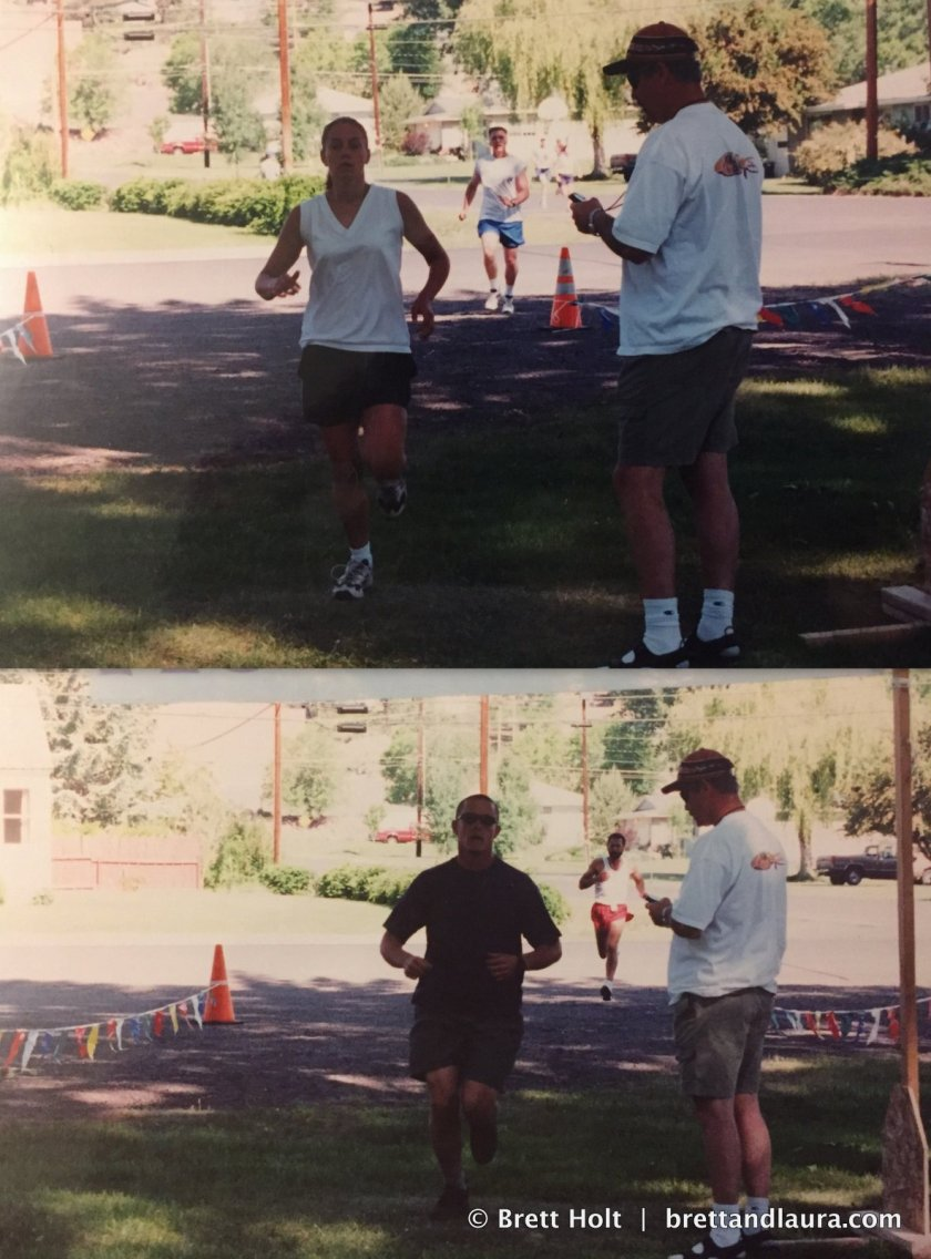 5K Race in Burns Oregon June 2001