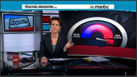 The Rachel Maddow Show - Ok Red State Meter - 2