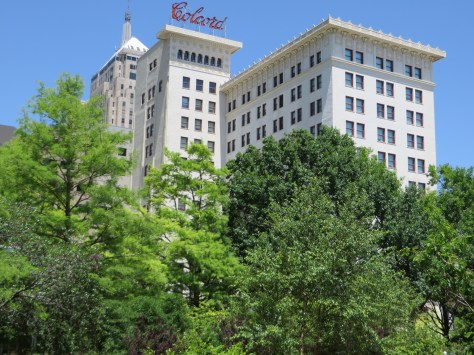 The Colcord Building, one of the oldest in downtown, is now a boutique hotel
