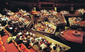 The larger Thrust Stage