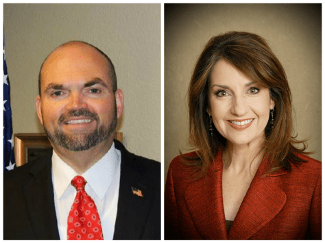 John Cox and Joy Hofmeister