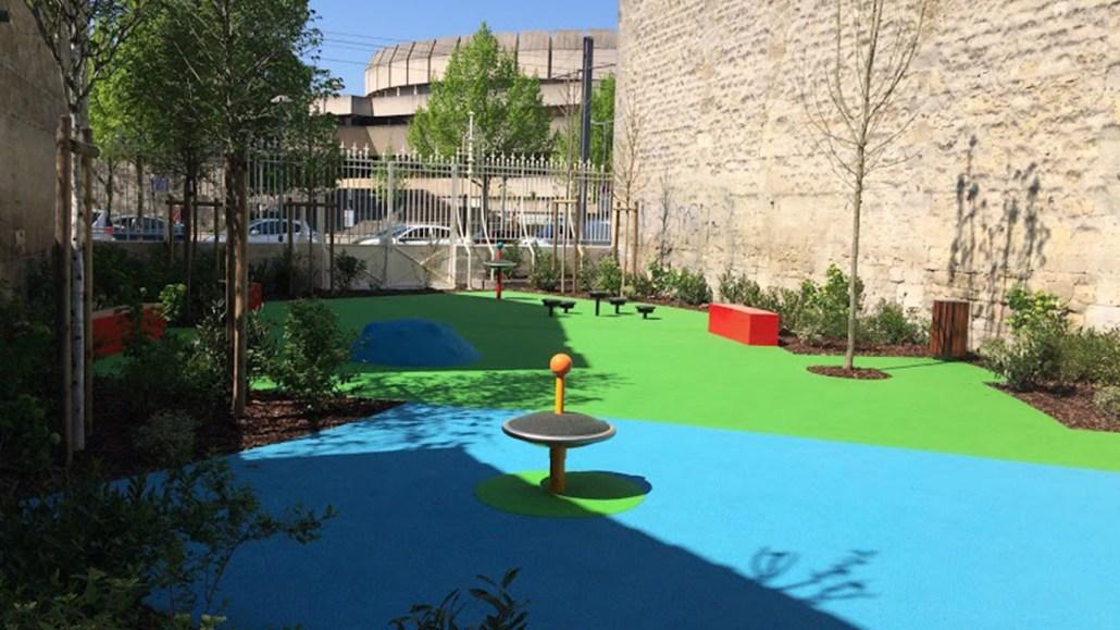 paysagiste bordeaux : projet aire de jeux par brettes paysage