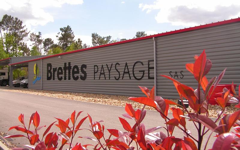Paysagiste Bordeaux Arcachon : Brettes siège social