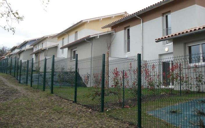 Paysagiste Bordeaux : projet paysagiste clôture métallique