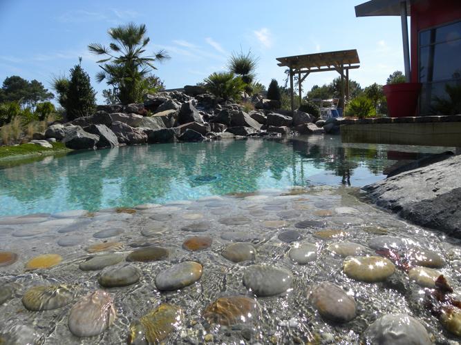 Paysagiste Bordeaux Arcachon : piscines paysagères