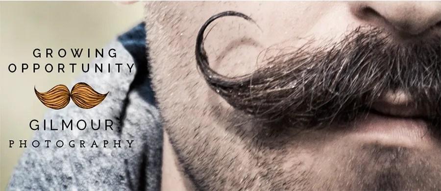 Movember Mustache Photo