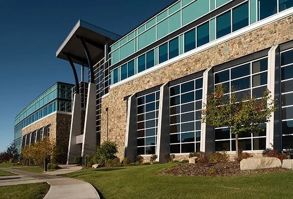 Photo of quarry park commercial space photographed by architectural photographer Brett Gilmour
