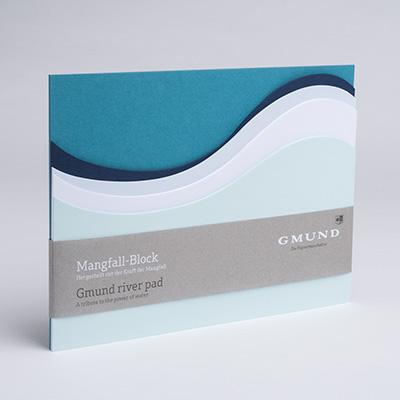 Bayreuth Buchhandlung Gmund Block Mangfall türkisblau