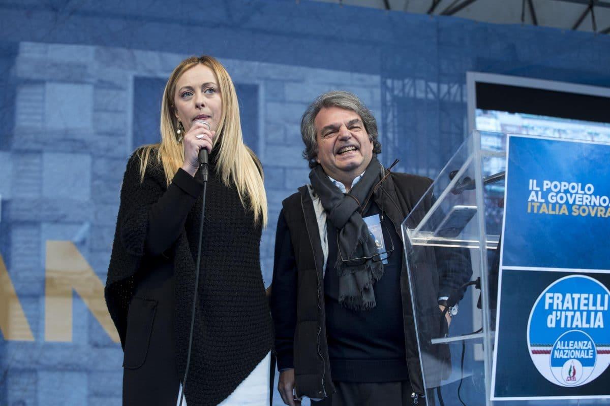"""Manifestazione """"Italia Sovrana"""" a Roma"""