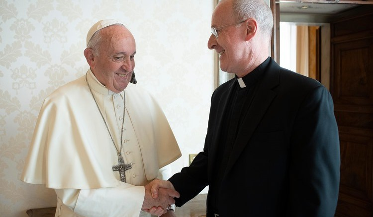 Il Papa e padre Martin