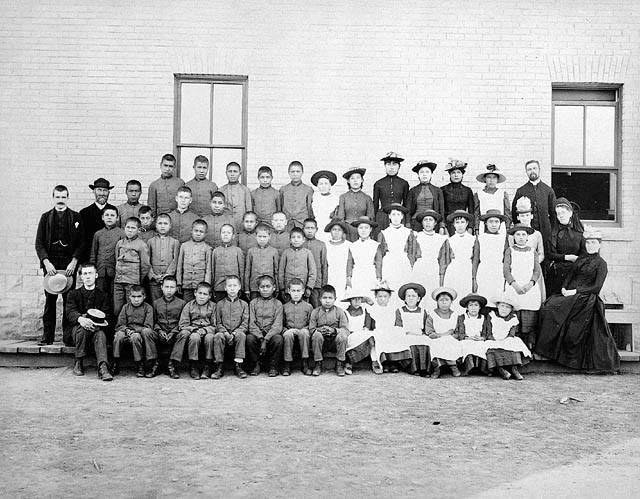 Residential school class shot VI