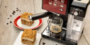 Reteta Prajitura cu nuca si crema de cafea by Diva in Bucatarie