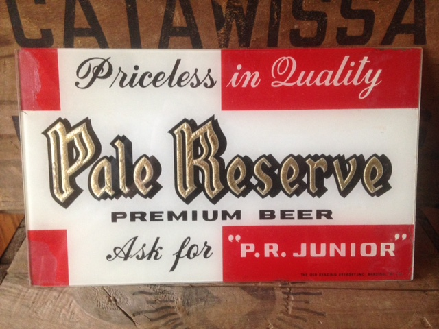 Pale Reserve Beer Beech ROG Sign