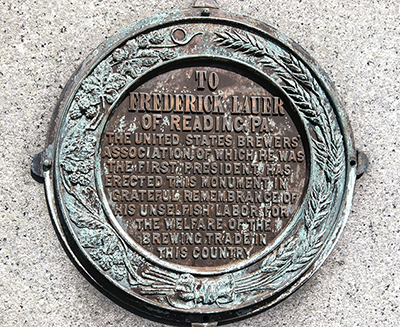 Original Front Plaque
