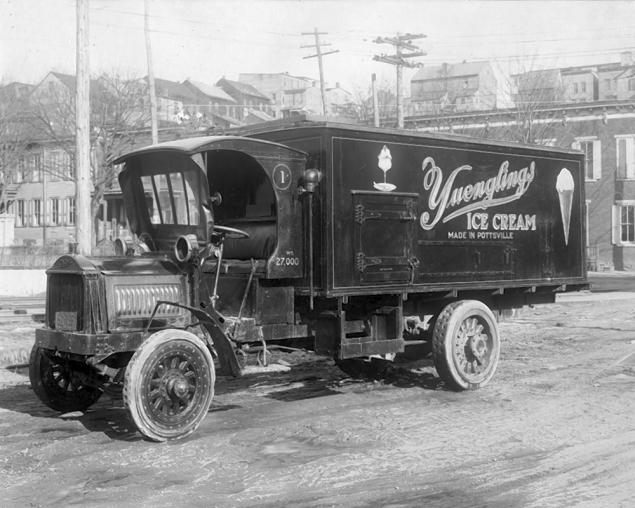 Yuengling's Ice Cream Delivery Truck