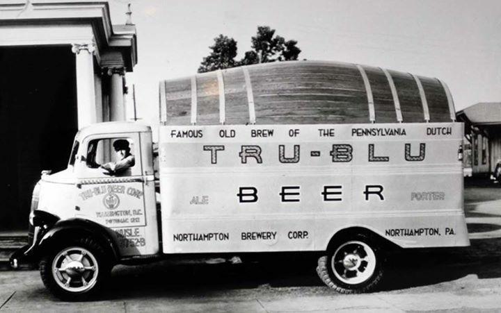 Northampton Brewery Tru Blu Beer Delivery Truck