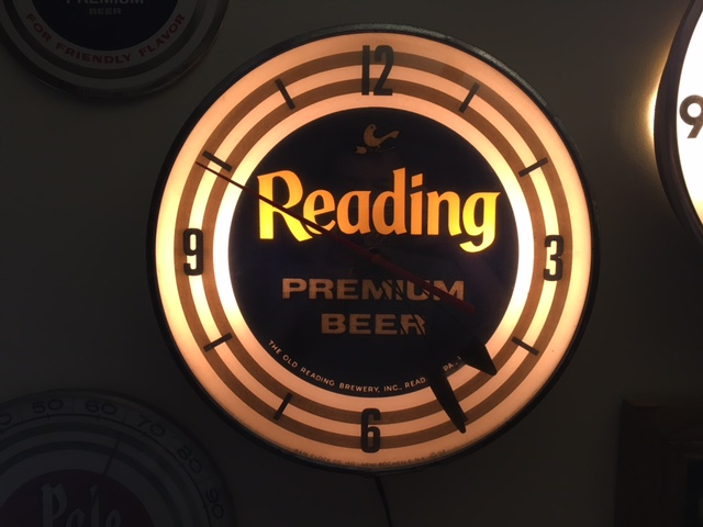 Old Reading PAM Clock
