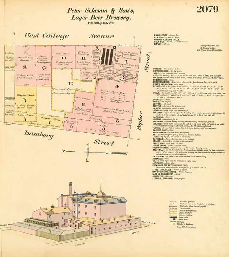 Peter Schemm Brewery Blueprints