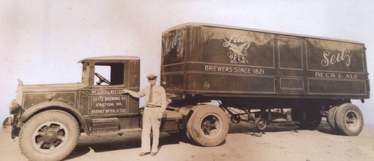 Seitz Brewery Delivery Truck