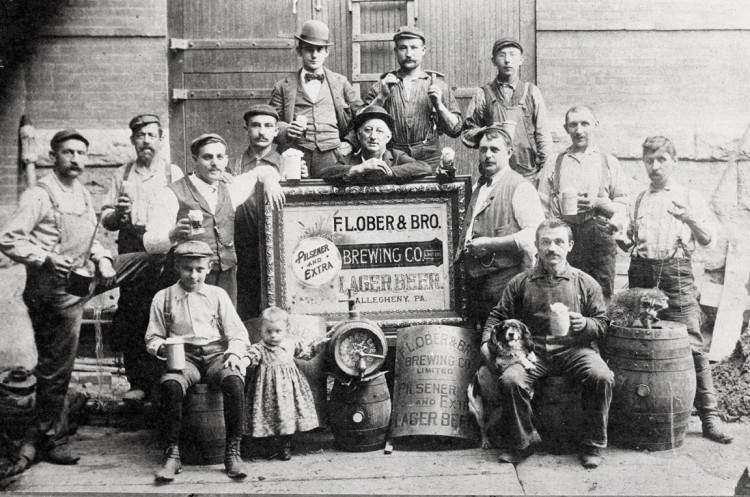 Pre-Pro Ober Brewery Workers