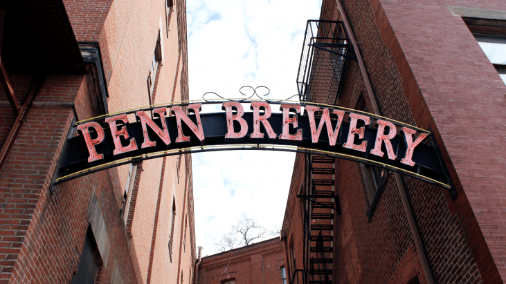 Penn Brewery Entrance
